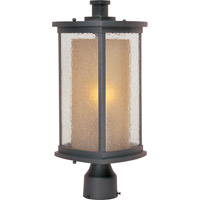 Maxim Lighting Bungalow 1 Light Outdoor Pole/Post Mount in Bronze 3150CDWSBZ