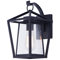Maxim 3173CLBK Artisan 1 Light 12 inch Black Outdoor Wall Sconce