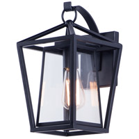 Maxim 3174CLBK Artisan 1 Light 14 inch Black Outdoor Wall Sconce