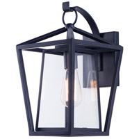 Maxim 3175CLBK Artisan 1 Light 16 inch Black Outdoor Wall Sconce