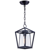 Artisan 1 Light 8 inch Black Outdoor Hanging Lantern