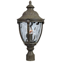 Maxim 3181WGET Morrow Bay DC 3 Light 24 inch Earth Tone Outdoor Pole/Post Lantern