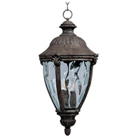 Maxim Lighting Morrow Bay DC 3 Light Outdoor Hanging Lantern in Earth Tone 3192WGET