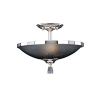 Maxim Lighting Elite 2 Light Semi-Flush Mount in Plated Silver 32001BTPS photo thumbnail