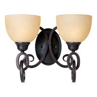 Maxim Lighting Ophelia 2 Light Bath Light in Colonial Umber 32312BLCU photo thumbnail