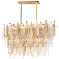 Maxim 32326CLCMPGL Majestic 18 Light 17 inch Gold Leaf Chandelier Ceiling Light