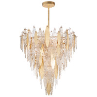 Maxim 32328CLCMPGL Majestic 21 Light 33 inch Gold Leaf Chandelier Ceiling Light photo thumbnail