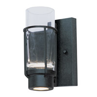 Maxim Lighting Fusion 1 Light Wall Sconce in Anthracite 32451CLAR