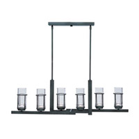 Maxim Lighting Fusion 6 Light Chandelier in Anthracite 32457CLAR