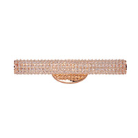 Maxim Meteor LED 1 Light Vanity Light in Rose Gold 32503BCRG