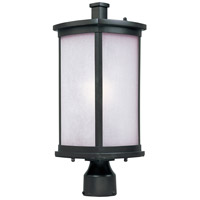 Maxim Lighting Terrace 1 Light Outdoor Post in Bronze 3250FSBZ