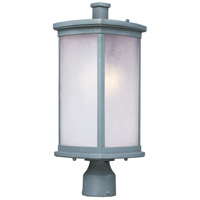 Maxim 3250FSPL Terrace 1 Light 19 inch Platinum Outdoor Post