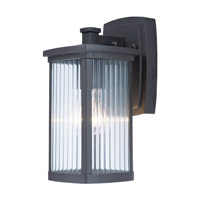 Maxim 3252CRBZ Terrace 1 Light 11 inch Bronze Outdoor Wall Sconce in Clear