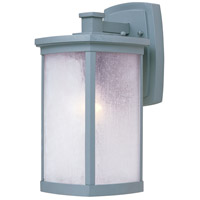 Maxim 3253FSPL Terrace 1 Light 14 inch Platinum Outdoor Wall Mount in Frosted Seedy