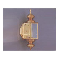 Maxim Lighting Builder Brass 1 Light Outdoor Wall Mount in Polished Brass 3290CLPB