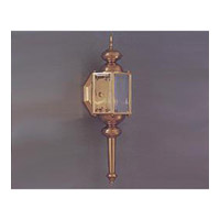 Maxim Lighting Builder Brass 1 Light Outdoor Wall Mount in Polished Brass 3293CLPB