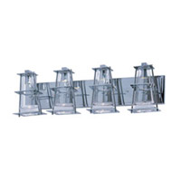 Maxim Lighting Flask 4 Light Bath Light in Polished Chrome 33004CLPC