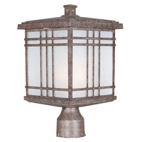 Maxim Lighting Sienna 1 Light Outdoor Post in Earth Tone 3320FSET