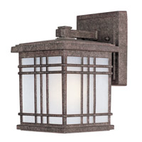 Maxim Lighting Sienna 1 Light Outdoor Wall Mount in Earth Tone 3322FSET
