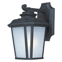 Maxim Lighting Radcliffe 1 Light Outdoor Wall Mount in Black Oxide 3342WFBO