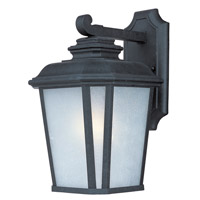 Maxim Lighting Radcliffe 1 Light Outdoor Wall Mount in Black Oxide 3343WFBO