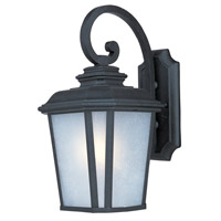 Maxim Lighting Radcliffe 1 Light Outdoor Wall Mount in Black Oxide 3344WFBO