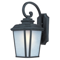 Maxim Lighting Radcliffe 1 Light Outdoor Wall Mount in Black Oxide 3346WFBO