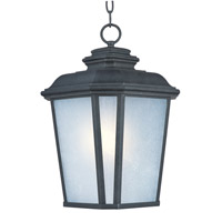 Maxim Lighting Radcliffe 1 Light Outdoor Hanging Lantern in Black Oxide 3349WFBO