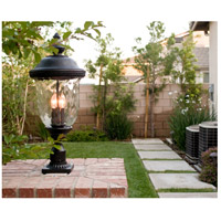 Maxim 3420WGOB Carriage House DC 3 Light 27 inch Oriental Bronze Outdoor Pole/Post Lantern alternative photo thumbnail