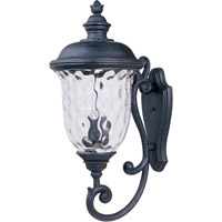 Maxim 3425WGOB Carriage House DC 3 Light 31 inch Oriental Bronze Outdoor Wall Mount photo thumbnail