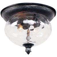 Maxim 3429WGOB Carriage House DC 2 Light 12 inch Oriental Bronze Outdoor Ceiling Mount  photo thumbnail