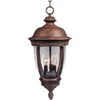 Knob Hill DC 3 Light 13 inch Sienna Outdoor Hanging Lantern
