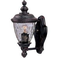 Maxim Lighting Carriage House DC 1 Light Outdoor Wall Mount in Oriental Bronze 3495WGOB