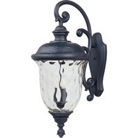 Maxim 3498WGOB Carriage House DC 3 Light 31 inch Oriental Bronze Outdoor Wall Mount