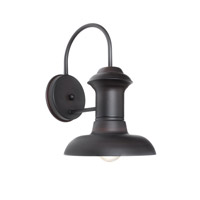 Maxim Lighting Wharf 1 Light Outdoor Wall Mount in Oriental Bronze 35001OB