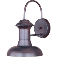 Maxim Lighting Wharf 1 Light Outdoor Wall Mount in Oriental Bronze 35002OB
