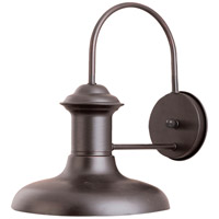 Maxim 35003EB Wharf 1 Light 11 inch Empire Bronze Outdoor Wall Mount