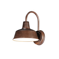 Maxim 35015EB Pier M 1 Light 11 inch Empire Bronze Outdoor Wall Mount