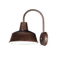 Maxim 35016EB Pier M 1 Light 13 inch Empire Bronze Outdoor Wall Mount