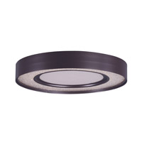 Maxim 35040CRYBZ Splendor LED LED 16 inch Bronze Flush Mount Ceiling Light