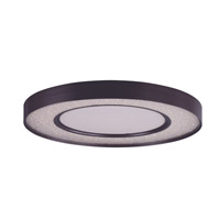 Maxim 35041CRYBZ Splendor LED LED 24 inch Bronze Flush Mount Ceiling Light