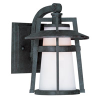 Maxim Lighting Calistoga 1 Light Outdoor Wall Mount in Adobe 3532SWAE