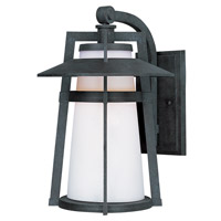 Maxim 3534SWAE Calistoga 1 Light 13 inch Adobe Outdoor Wall Mount