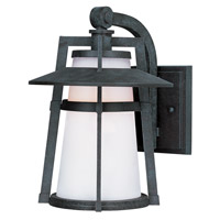 Maxim Lighting Calistoga 1 Light Outdoor Wall Mount in Adobe 3536SWAE