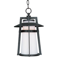 Maxim Lighting Calistoga 1 Light Outdoor Hanging Lantern in Adobe 3539SWAE