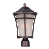 Maxim 3800LACO Balboa DC 1 Light 17 inch Copper Oxide Outdoor Post