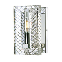 Suave 1 Light 6 inch Polished Nickel ADA Wall Sconce Wall Light