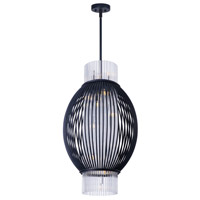 Maxim Lighting Aviary 10 Light Pendant in Anthracite 38384CLAR