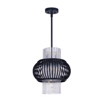 Maxim Lighting Aviary 12 Light Pendant in Anthracite 38385CLAR