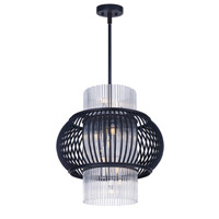 Maxim Lighting Aviary 13 Light Pendant in Anthracite 38386CLAR